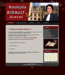 Création de site-carte de visite