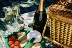 Picnic in a hidden garden of paris with your butler